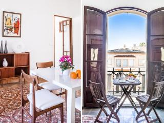 Santa Catalina: Sunny, modern flat. Large windows, Palma de Majorque