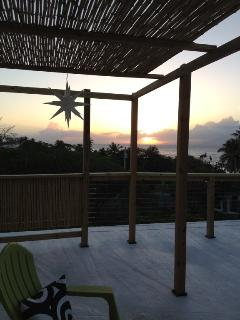 Casa Estrella:  Enjoy the Roof Deck at Sunset