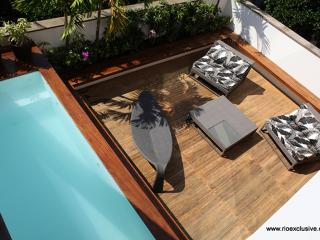 Rio132 - Penthouse in Leblon with pool and terrace next to Dias Fereira street
