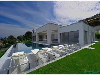 Modern designer villa with pool and great lakeview, Stresa