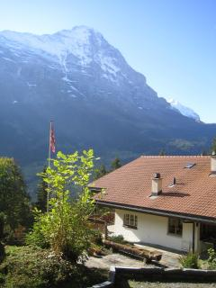 Chalet Ave with Eiger view