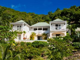 Lime Hill Villa at English Harbour, Antigua - Stunning Views, Pool, Tropical Gardens