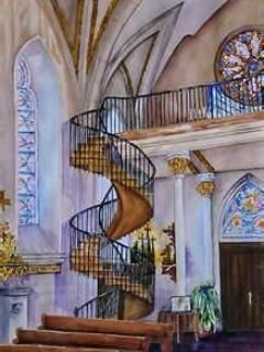 Loretto Chapel Staircase, SF