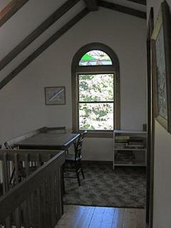 Loft overlooking kitchen
