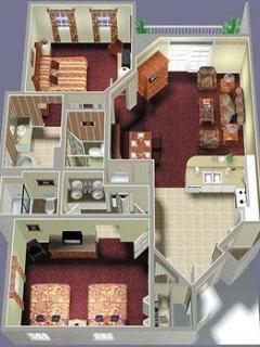 2bdrm floorplan