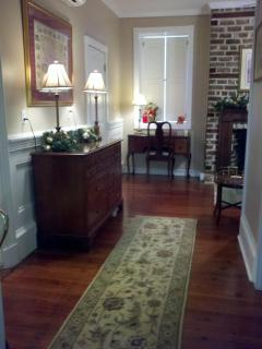 Hallway Showing Desk and Bureau