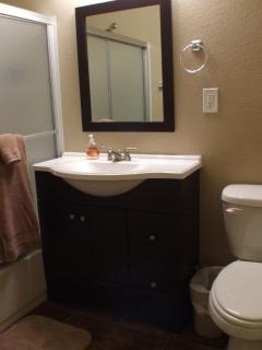 Brand new Master Bath with all new fixtures.