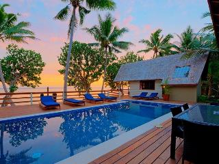 Coral cove absolute beach front private villa, Sigatoka