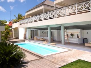 La Pointe at Gustavia, St. Barths - Large Villa, Restaurants, Boutiques and Shell Beach Within Walki