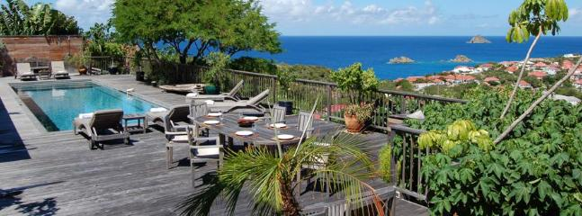 Serenity at Gustavia, St. Barths - Ocean View, Private, Close Proximity To Gustavia