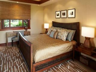 Four bedrooms total. Three with king beds and one with two twin beds that can be set as king also.