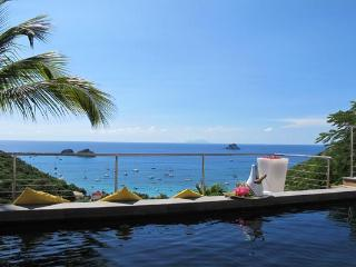 Modern villa with a magnificent view on Gustavia and Corossal Bays WV DAG, Colombier