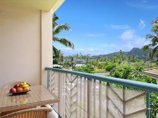 G305 - Beautiful Garden View w/ **AC** Resort Pool & Restaurant