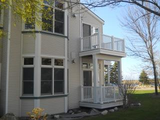 Two Story Condo with Water Views, Manistee