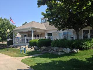 Luxury Home on the Marina w/ 66 ft Deck, Manistee