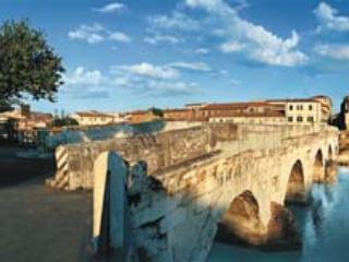 Ponte romano TIBERIO a RIMINI