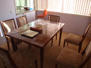 Extendible Dining Table seats 8