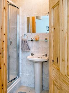 En Suite Bathroom with shower, basin and toilet