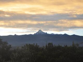 Mt Kenya from the porch