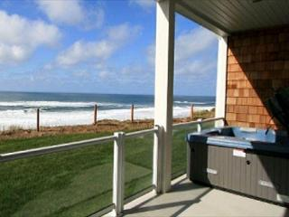 Whispering Waves Condo Oceanfront Condo w/ Hot Tub