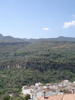 CASA TERRAZAS overlook lower part of Albuñuelas