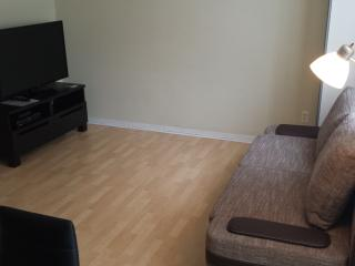 Apt.A.Living room with HD LED TV with cable service, Wi-Fi and phone