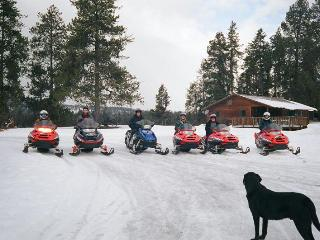 MeadowView, Snowmobile & Cross Country Ski Cabin, Seeley Lake