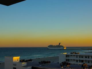 Spectacular sunsets and night views of SOFI and downtown.