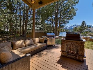 Waterfront home with hot tub and mountain views - Luxury Tahoe Keys Home, South Lake Tahoe