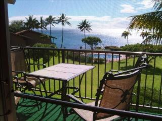 Have your meals on this lanai with this view.