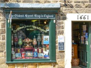 NO. 5 THE STABLES, character cottage, in the town centre, Grade II listed, in Pateley Bridge, Ref. 15847