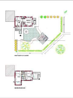 Plan of maisonette