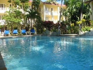 Large studio in center of Cabarete on a private property with pool and gardens
