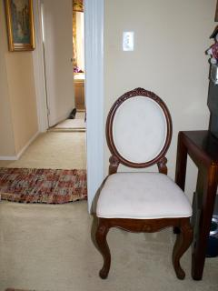 Chair in 2nd floor bedroom