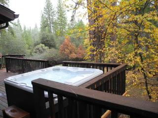 Knarly Oaks Midpines Manor, spa, decks,3000 sq ft,, Yosemite National Park