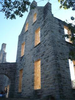 View of the castle ruins - Ha-Ha Tonka state park - About 12 miles from the Ledges