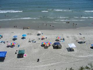 Ocean Front, 4 Bedroom Condo on Cherry Grove Beach