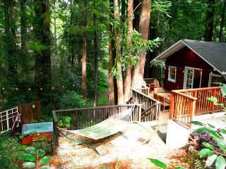 'Little Red House Plus!' Hot Tub! Walk to Golf Course&Dining!Woods/Wineries!