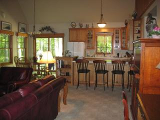 Kitchen Island and Seating