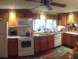 Panoramic View of Kitchen
