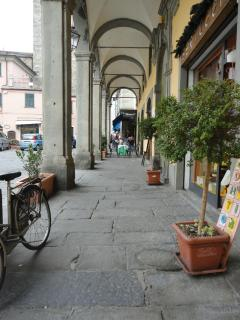 Piazza with shops, cafes and so much more