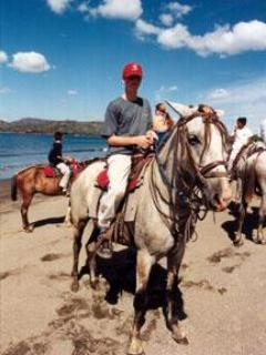 Go horseback riding along the beach..