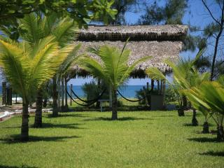 Beachfront private villa with service included