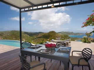Axis at Petite Saline, St. Barth - Ocean View, Amazing Sunset Views, Private, San Bartolomé