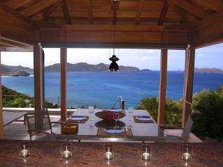 Bali at Pointe Milou, St. Barth - Ocean View, Amazing Sunset Views, Covered Pool