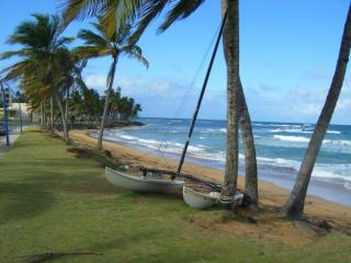 Luquillo Surfer Value! Budget 2 Bedroom Apartment 40 steps to La Pared Beach