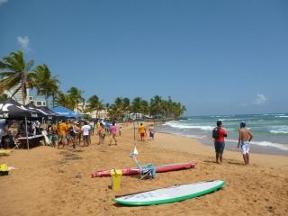 Luquillo 'La Pared' Beach & Plaza: 1 (base) or 2 bedrooms (surcharge applies )