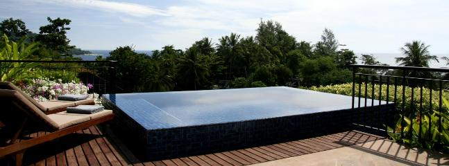 Top roof pool and garden with gorgeous view