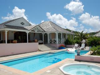 La Vie En Rose at Petit Cul De Sac, St. Barth - On The Beach, Ocean Views, Access To 2 Tennis Courts, Petit Cul de Sac