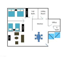 Apartment Layout (same for each floor)